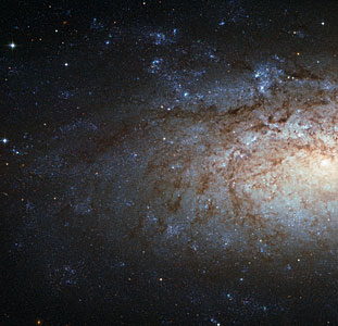 A special spiral galaxy for over 200 000 Facebook fans