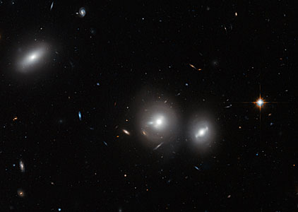 Hubble close-up on the Coma Cluster