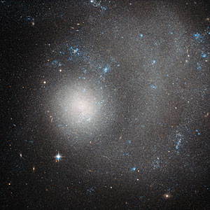 A dwarf galaxy ravaged by grand design
