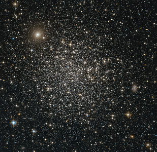 A glittering sphere of stars
