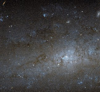 The centre of NGC 247