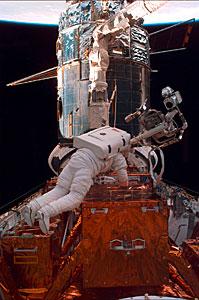 SM2: Astronaut Preparing for EVA