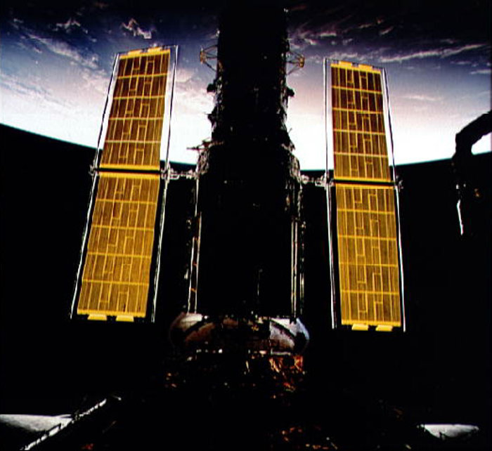 Hubble's New Solar Arrays