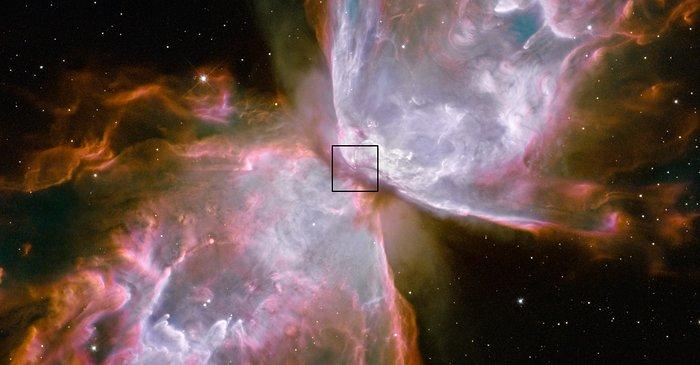 Central star in Bug Nebula found
