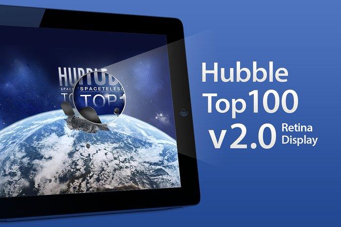 ESA/Hubble Top 100 Images v2.0 app