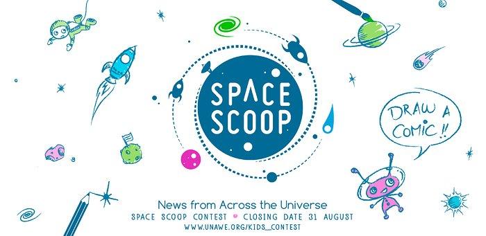 Space Scoop comic contest