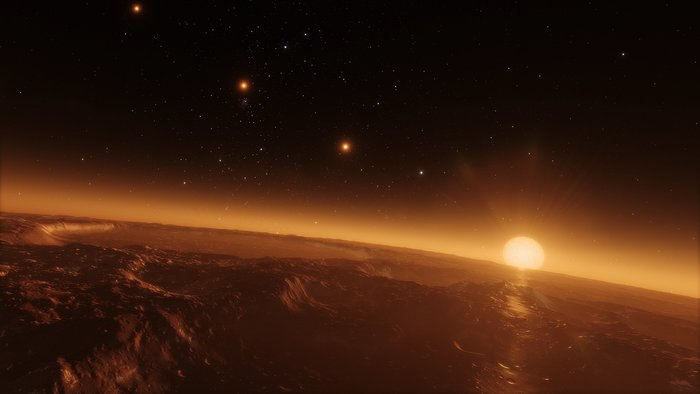 Still from Hubblecast 102: Taking the fingerprints of exoplanets