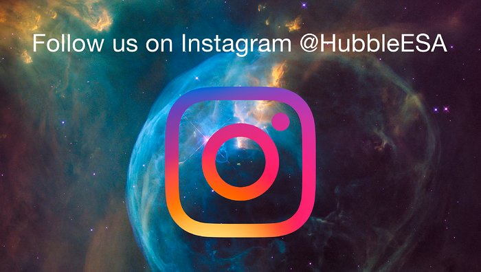 ESA/Hubble on Instagram