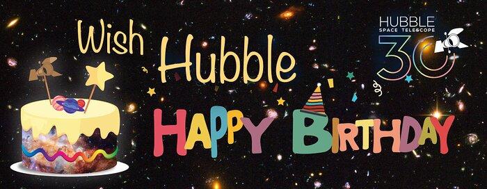 Let's Wish Hubble a Happy Birthday!