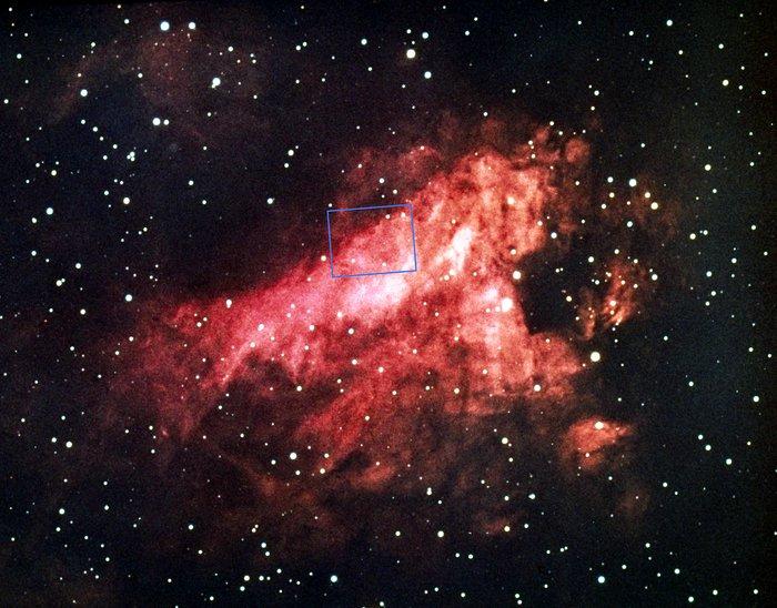 Messier 17, the Omega Nebula (NOAO image)