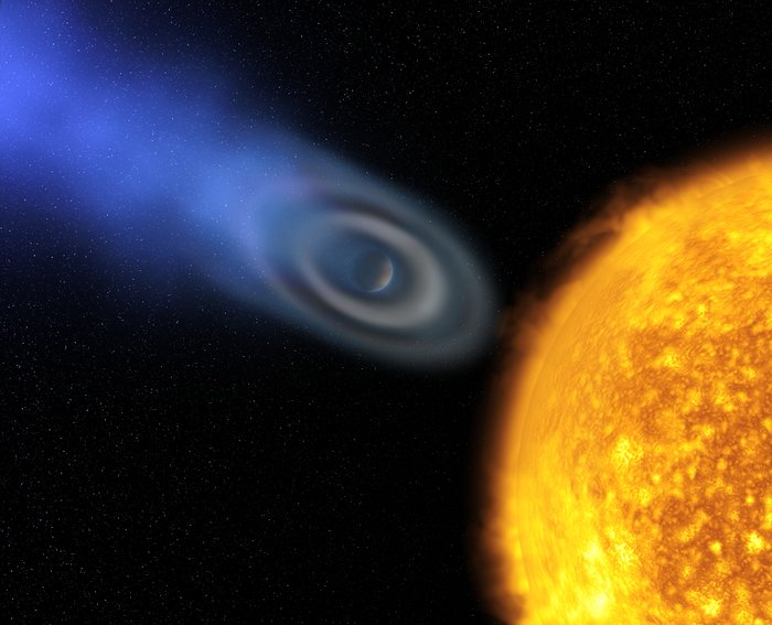 Oxygen and carbon discovered in extrasolar planet atmosphere