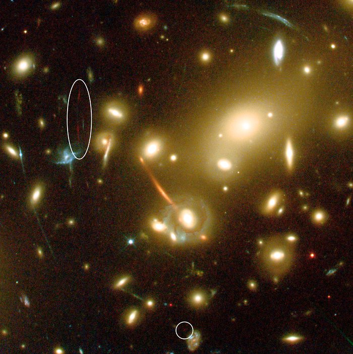 Hubble and Keck team up to find farthest known galaxy in the Universe