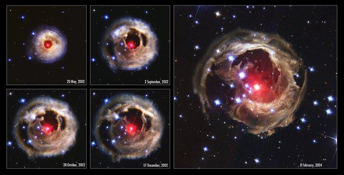 V838 Monocerotis revisited: Space phenomenon imitates art [chronological overview]