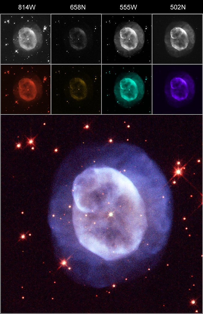 An example of an image created with ESA/ESO/NASA Photoshop FITS Liberator