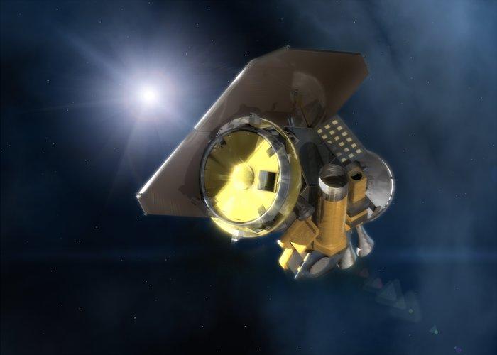 NASA's Deep Impact spacecraft [artist's impression]