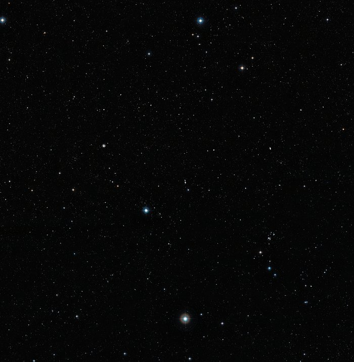 Arp 87 from the DSS (ground-based image)