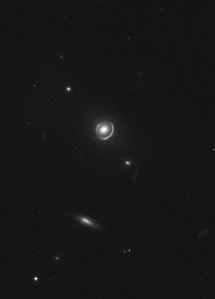 Double Einstein ring