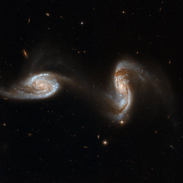NGC 5257, NGC 5258