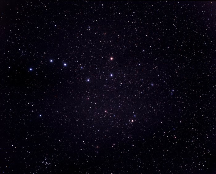 A very wide-field view of the constellations of Ursa Major and Coma Berenices (ground-based image)