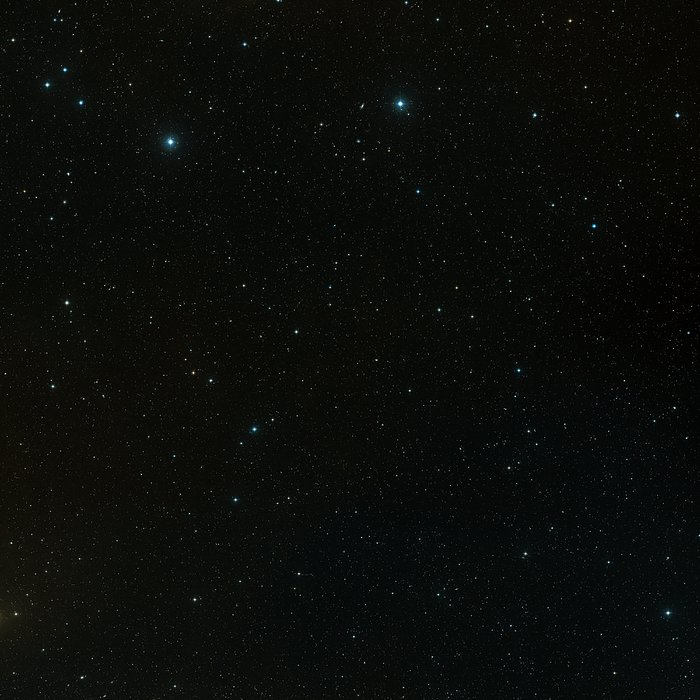 The field around the COSMOS survey (ground-based image)