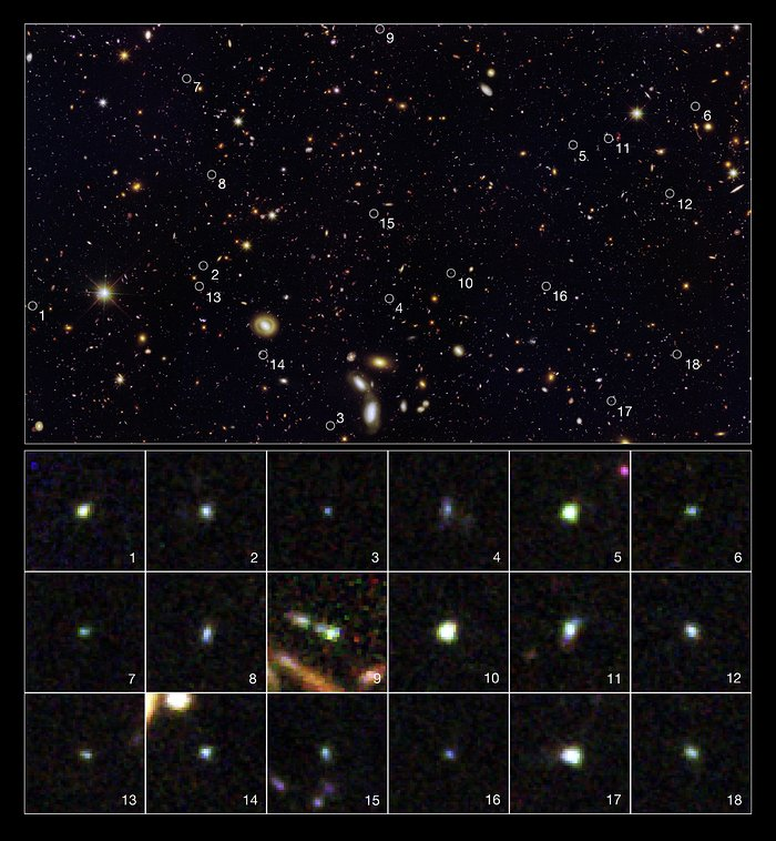 Tiny galaxies brimming with star birth