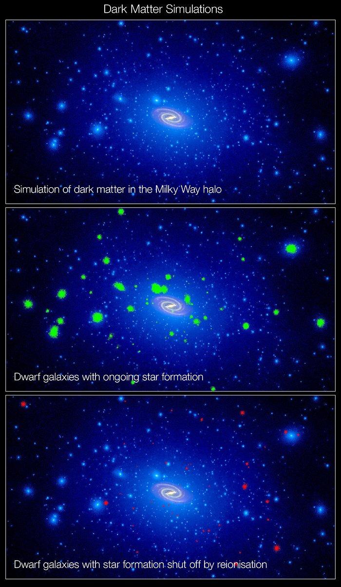 A swarm of dark matter around the Milky Way