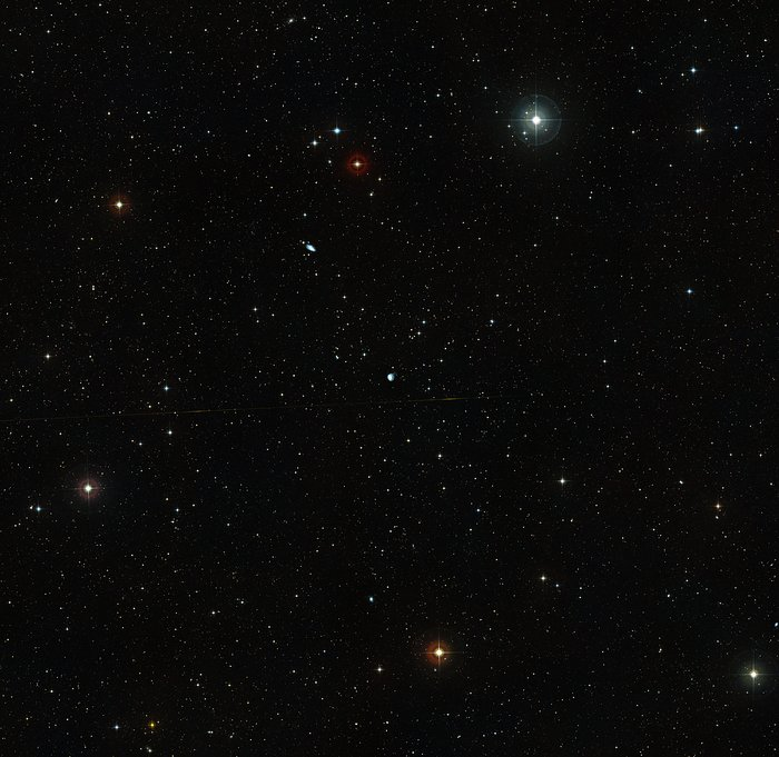 Wide-field view of the area around NGC 922 (ground-based image)