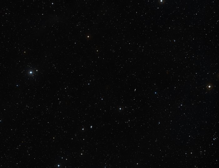Abell 68 and its surroundings (ground-based image)