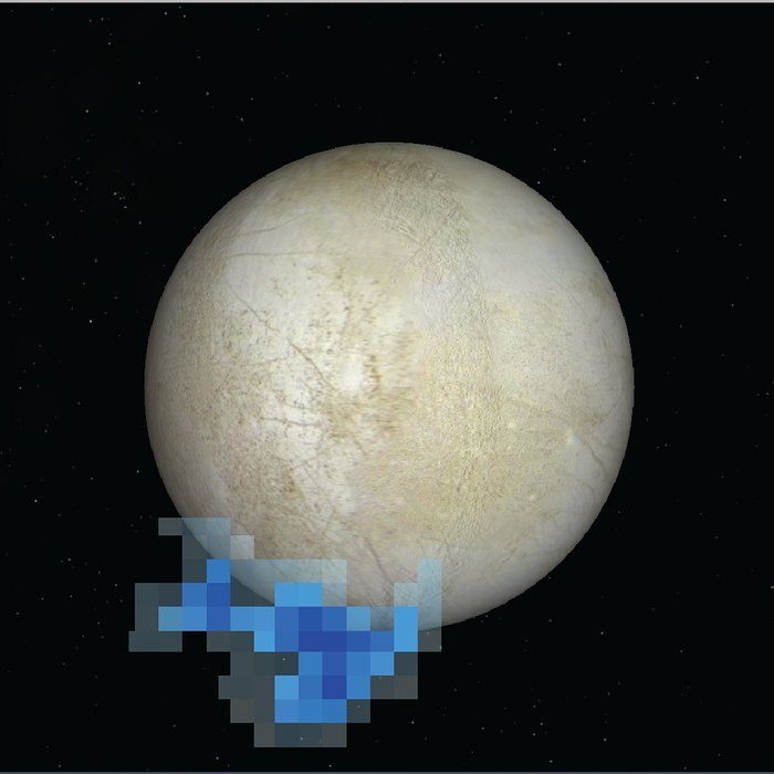Water vapour plumes over Europa