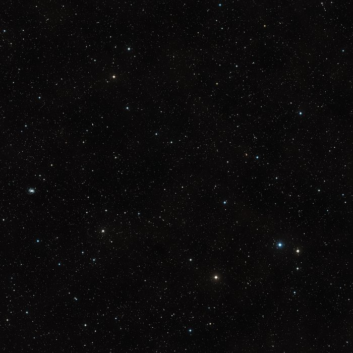 Digitized Sky Survey Image around CLASS B1608+656 (ground-based image)