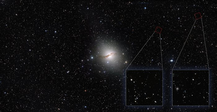 Centaurus A halo annotated