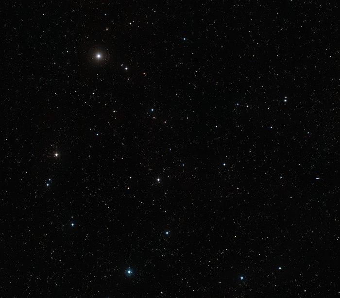 The area around dwarf galaxy DDO 68 (ground-based image)