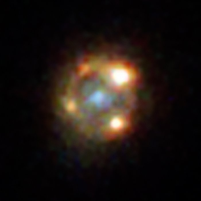 Hubble's view on lensed supernova