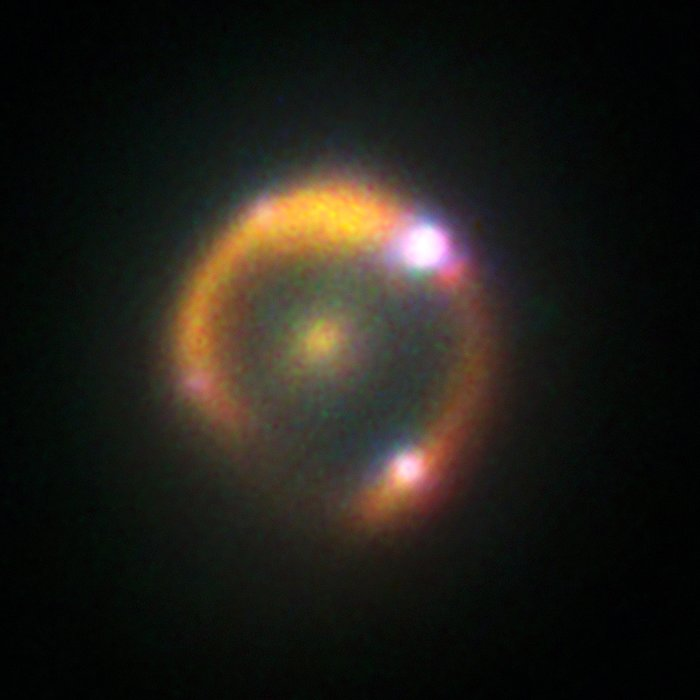 Keck's view on lensed supernova