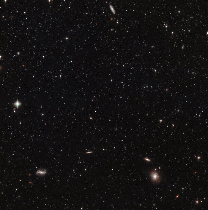 Hubble's view of the Sculptor Dwarf Galaxy (pointing 1)