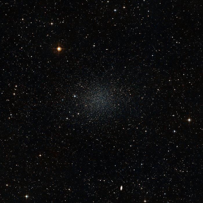 Sculptor Dwarf Galaxy (ground-based view)