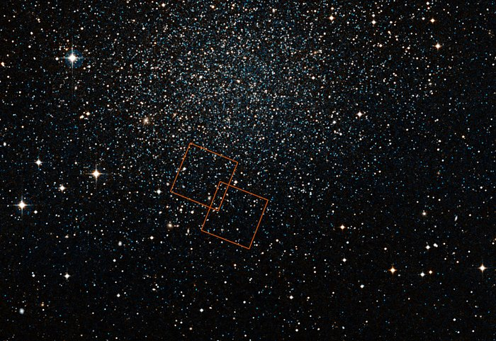 Hubble observing the Sculptor Dwarf Galaxy