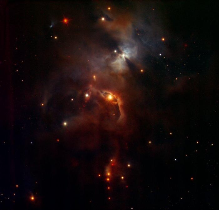 Serpens Nebula, seen by HAWK-I