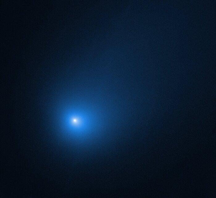 Comet 2I/Borisov at Perihelion in December 2019