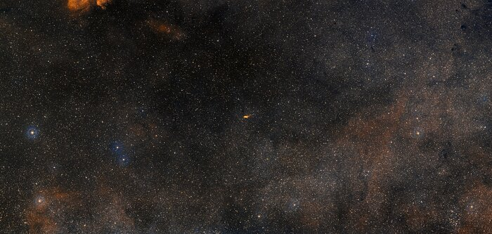 Wide-field image of NGC 6302 (ground-based image)