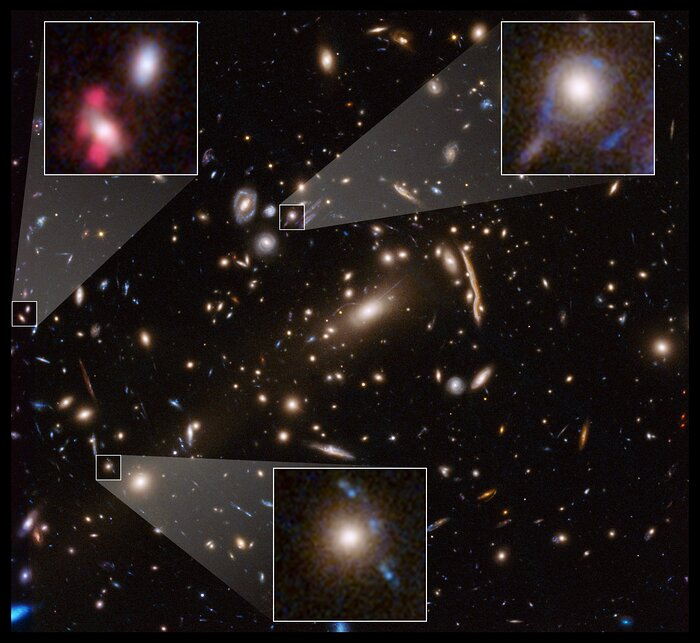 Hubble Examines the Galaxy Cluster MACSJ 1206