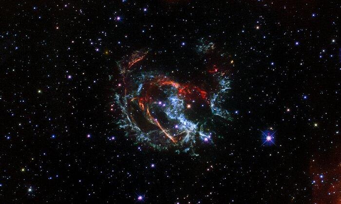 Hubble Captures the Supernova Remnant 1E 0102.2-7219