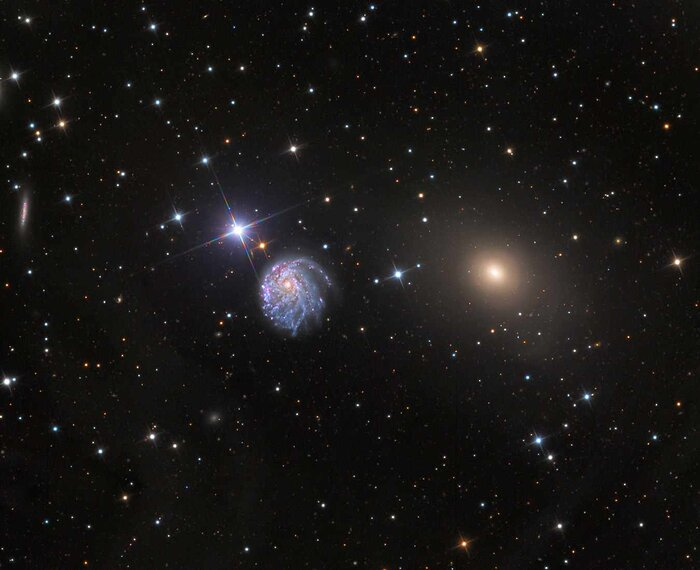 Wide-Field View of NGC 2276