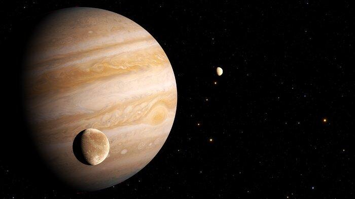 Artist's Impression of Ganymede