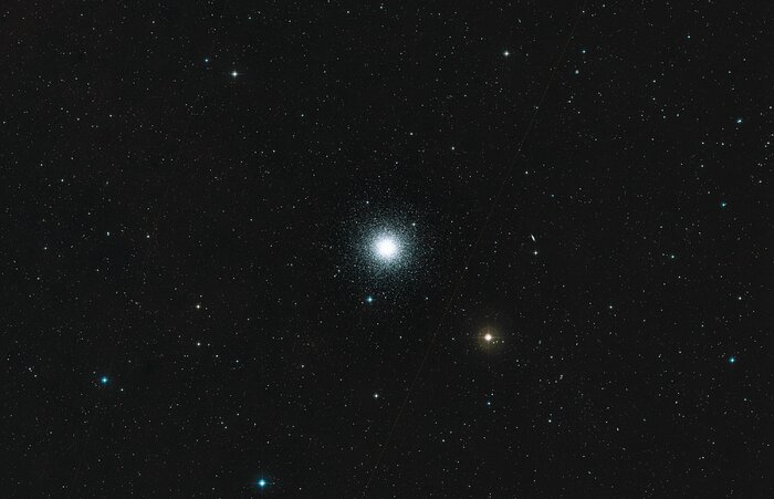 Wide Field View of M3