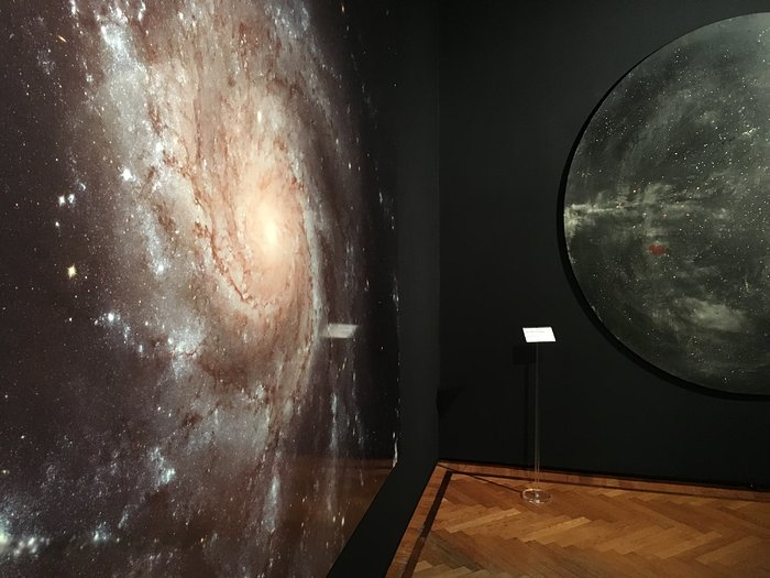 Beauty in art and space