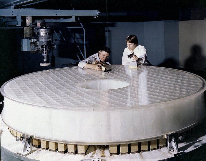 Hubble's main mirror