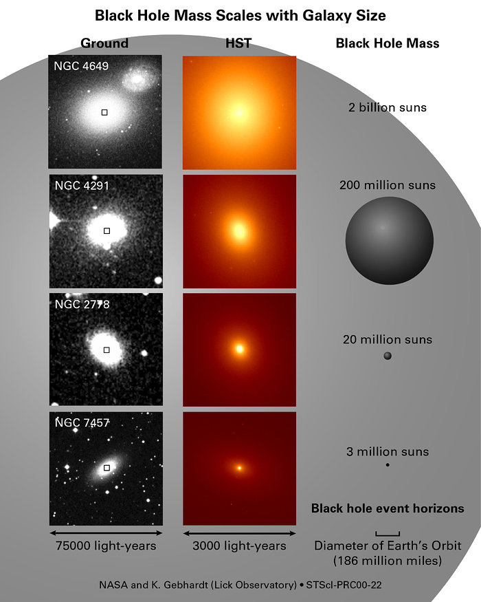 Black Holes Shed Light on Galaxy Formation