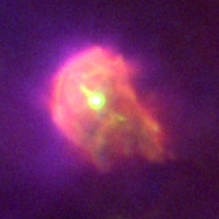 Proplyd in the Orion Nebula