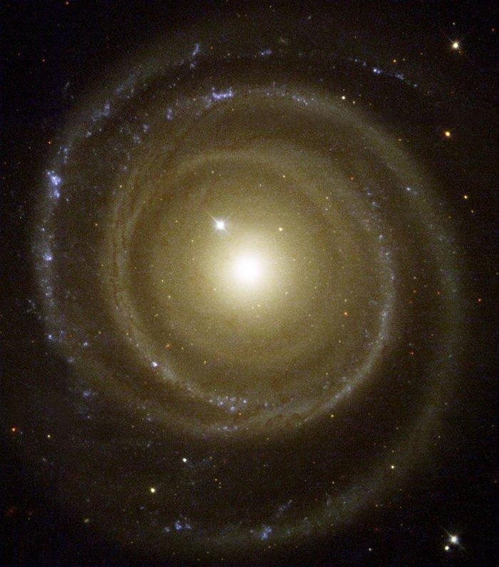 Back Spin Galaxy